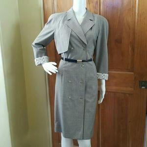 Escada Margaretha Ley Assymetrical Dress
